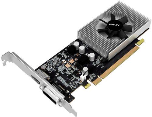NVIDIA GeForce GT 1030 2GB GDDR5 PCI Express 3.0 Graphics Card Black PNY