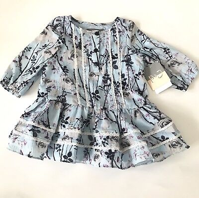 PIPPA /& JULIE Baby Girls Short Sleeve Dress and Diaper Cover