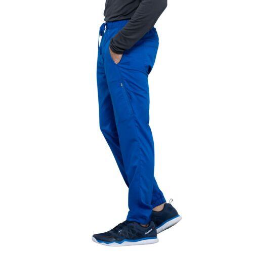 Cherokee Scrubs Set REVOLUTION Men/'s Polo Shirt Straight Jogger Pant WW615//WW012