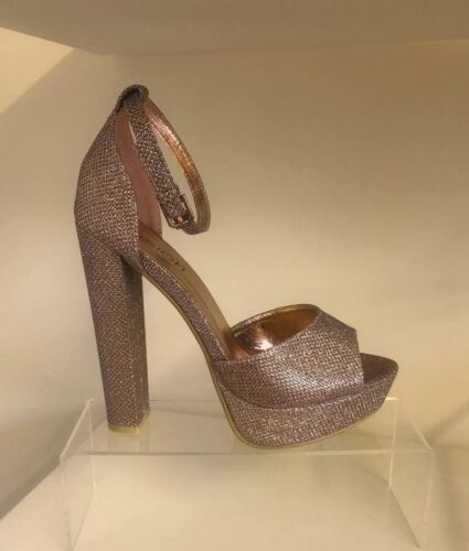 Boutique apenas hay Plataforma Bloque Sandalias//Zapatos Tacón Alto-Nuevo RK11