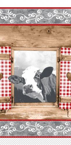 Mank Landhaus 33 x 33 cm Tissue Serviette Almblick 1//8 Falz 100 Stück