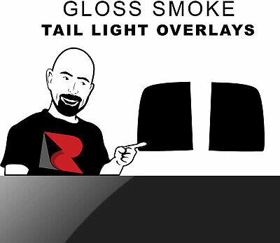 Blackout Smoke Rvinyl Rtint Headlight Tint Covers for GMC Sierra 2007-2013