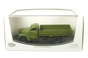 Ural-zis-355m-tablillas-camion-verde-oliva