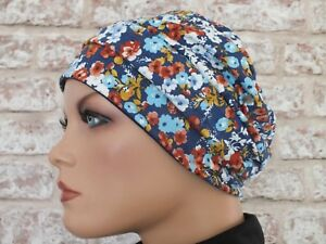 Hair Loss Jersey Hat Headwear for Cancer Reversible 2 in 1 Chemo Leukemia