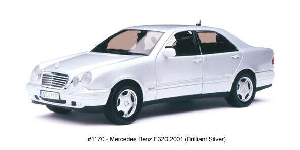 Mercedes E 320 (w210) 2001 plata 1 18 Model 1170 SUN Estrella