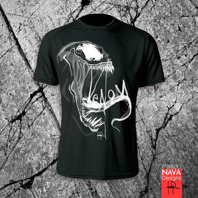 Venom Workout Dri Fit T Men's-shirt Marvel Spiderman Tank Top Gym Work Out Tee