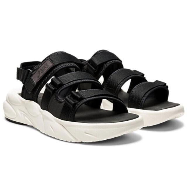 ASICS GEL-BONDAL Sandals Unisex Slide Cushion Slippers Black White ...