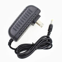Us Plug Power Supply Adapter Cord For Mustek Scanexpress A3 Usb 2400 Pro
