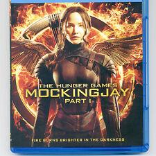 Hunger Games: Mockingjay PG-13 movie, mint Blu-ray & UV Jennifer Lawrence NO DVD