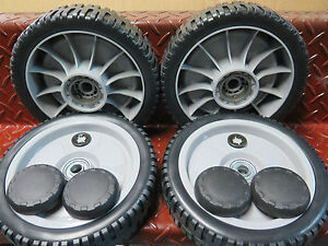 2-x-SETS-8-034-Honda-wheel-set-self-propelled-lawnmower-hru214-hru215-and-hru216