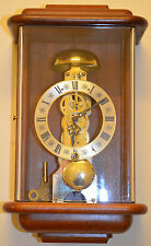 Beautiful Hermle Passing Strike Wall Clock (new suspension spring & serviced)