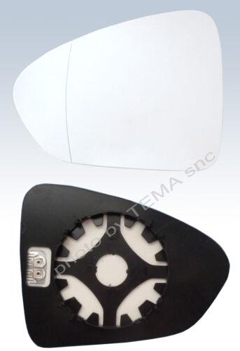 Specchio retrovisore FIAT TIPO dal 2016 piastra vetro sinistro asferico TERMICO