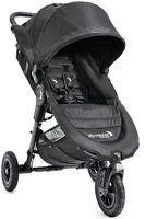 Baby Jogger City Mini GT Black/Black Standard Single Seat Stroller Strollers