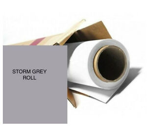 colorama storm grey photography background paper roll off cut 0 9m