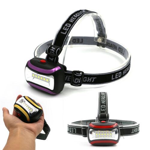6 SMD LED Wiederaufladbar USB Scheinwerfer Taschenlampe Torch USB AAA