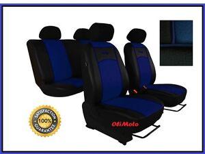 blue Car seat covers fit Dacia Logan full set black