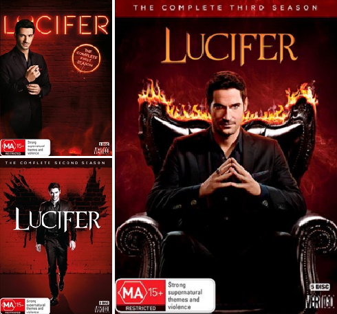 Lucifer : Season 1-3 (DVD, 11-Disc Set) NEW