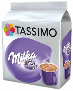 Details About Tassimo Milka Hot Chocolate T Discs Pods 816244080 Drinks