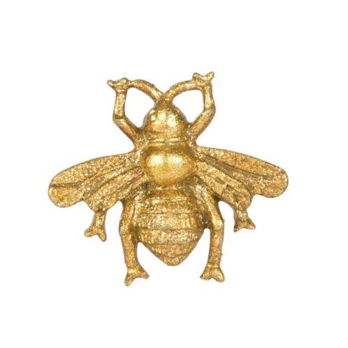 Bee Tiroir Knob Antique Métal Doré Vintage Armoire Shabby Chic Poignée de porte