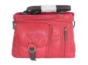 de cuero de Handbag calidad buena de Sienna dos manijas Cherry IUH7x
