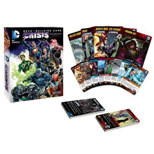 DC Comics Deck Building Game Crisis Expansion Pack 3
