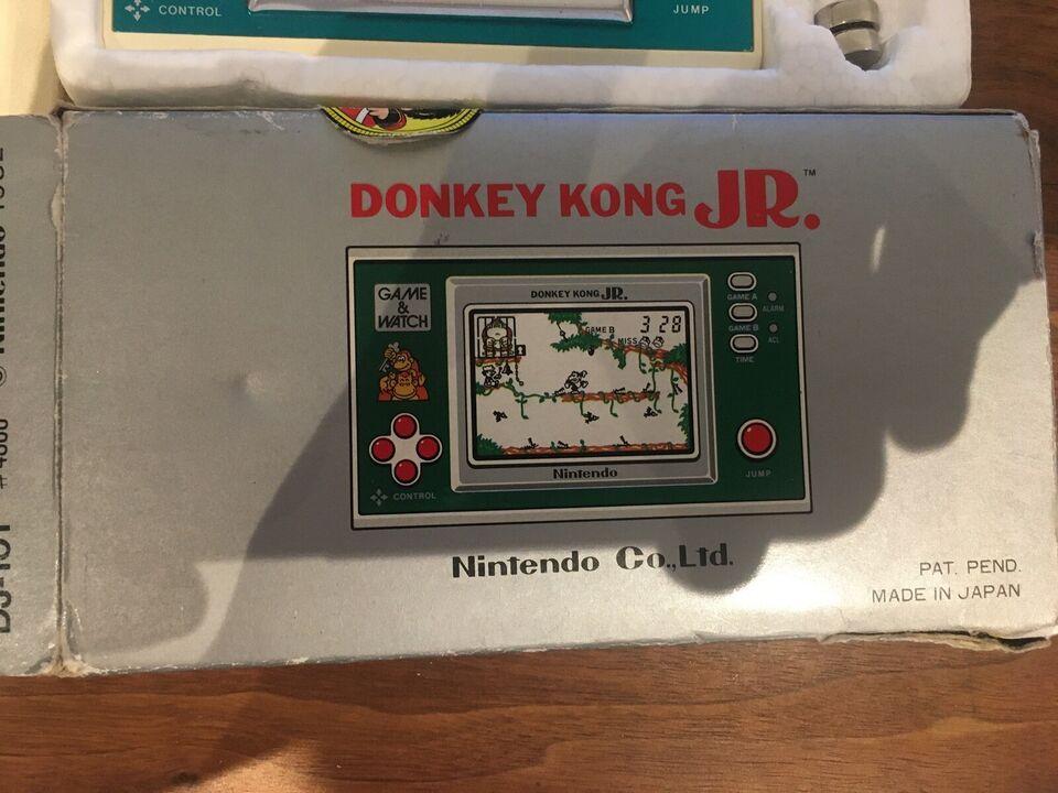 Nintendo Game & Watch, donkey kong jr 1982, Perfekt