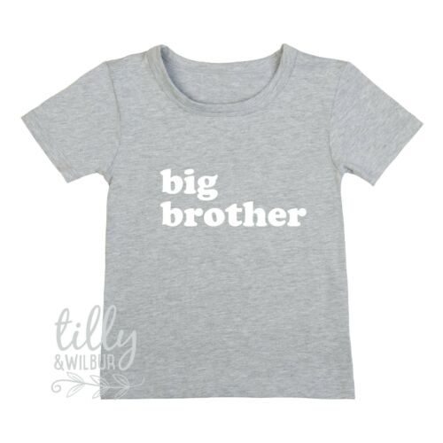 Big Brother T-Shirt I/'m Going To Be A Big Brother Pregnancy Announcement Shirt