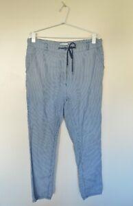 Fabulous-Women-039-s-Country-Road-Casual-Pants-Sz-8-Drawstring-Lightweight-Stripes