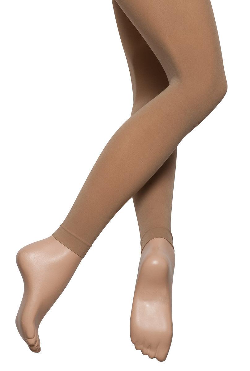 Girls Ladies Light Suntan Tan Footless Ankle 60 Denier Ballet Dance Tights Katz