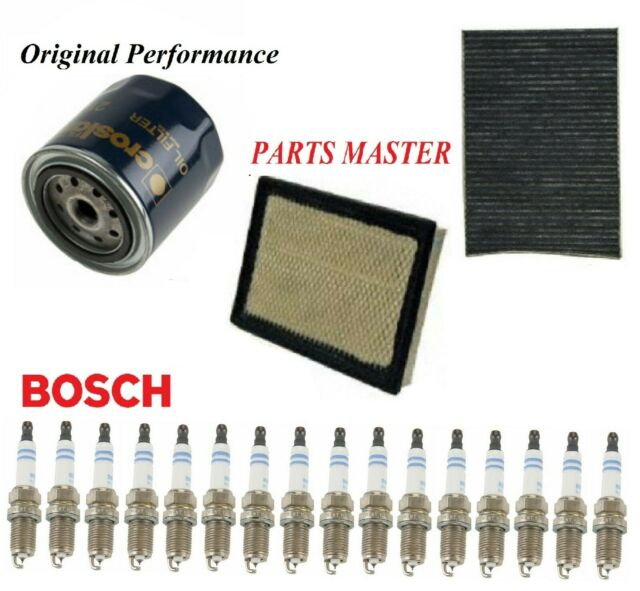 Tune Up Kit Air Cabin Oil Filters Spark Plug For DODGE
