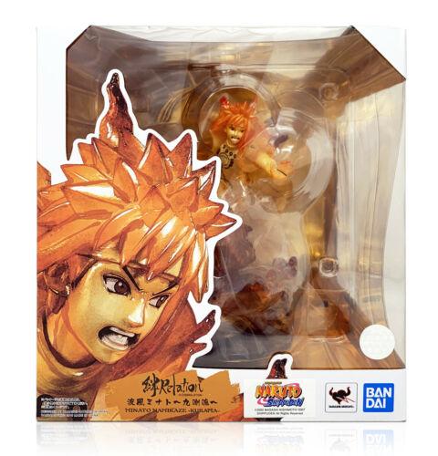 Kizuna Relation Bandai Naruto Figuarts ZERO Kurama Minato Namikaze PVC Statue