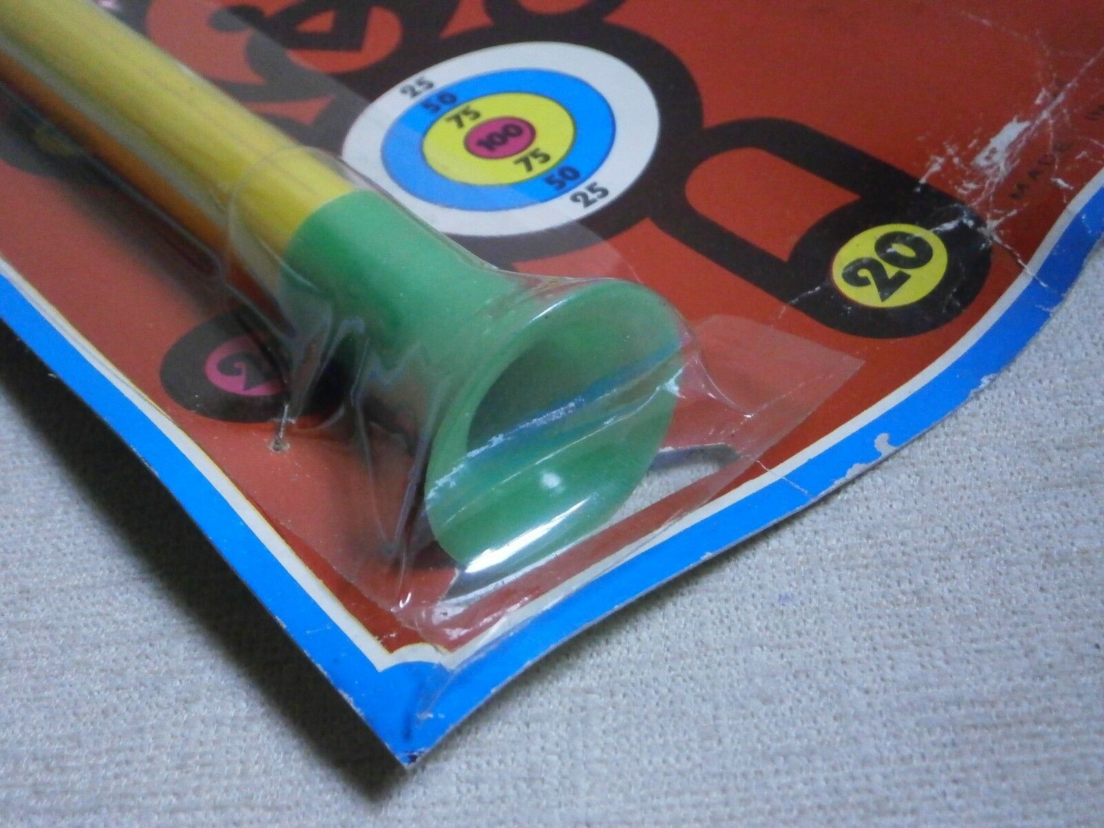 Blowpipe     New MOSC PLASTIC MADE IN GREECE VTG RARE Greek d558b5