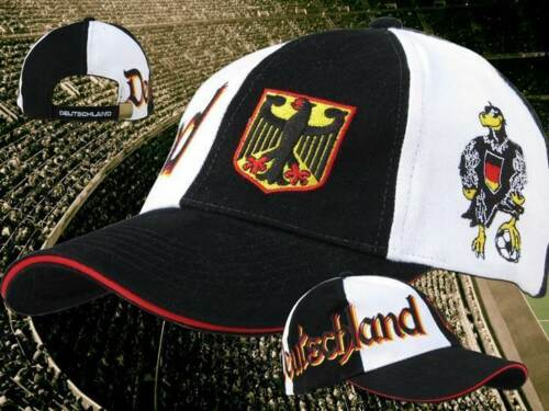 "Fan WM Cap  NEUWARE 100 /% Baumwolle 2018 Deutschland Kappe B /""ADLER/"" 2 neu"