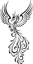 WALL VINYL DECAL ART STICKER GRAPHICS BEAUTIFUL BIRD PHOENIX S2266