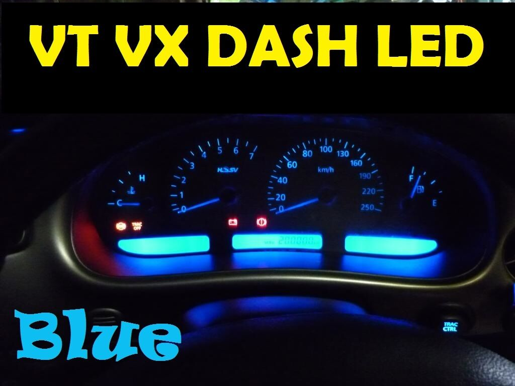 including LED Bulb for LCD screen Holden Commodore VT VX Green LED Dash Light