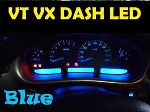 BLUE-DIY-LED-Dash-CLuster-Light-Kit-A1-Bulbs-VT-VX-VU-Commodore-Berlina-Calais