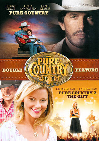 PURE COUNTRY 1 2 Rare Dvd Set Country Music GEORGE STRAIT 2 Disc Set  - $4.99