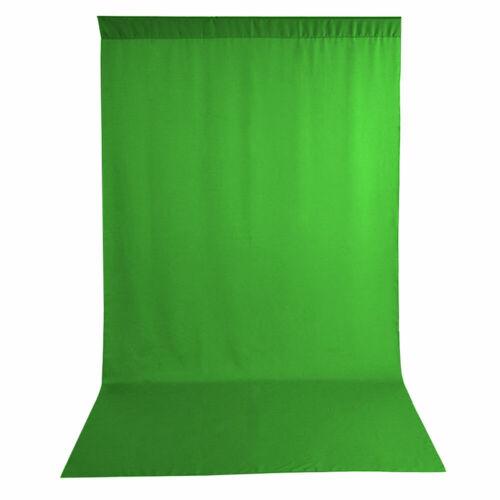 Telón de fondo de fondo de fotografía de tela resistente a arrugas Dobladillo bordes Bucle 3mx6m