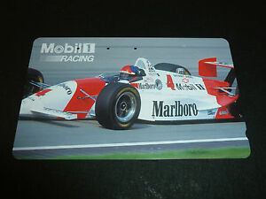CHEVY-PENSKE-TEAM-PC22-EMERSON-FITTIPALDI-INDY-CARTE-PHONE-CARD-SPONSOR-93-USED