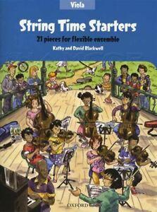 Bien String Temps Starters Pour Alto Partitions Livre Audio/mÊme Jour ExpÉdition-afficher Le Titre D'origine Parfait Dans L'ExéCution