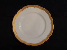 Rare Bernardaud & Co Limoges Porcelain & Gold Gilt Plate Circa 1900 - 1914