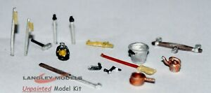 Canal-boat-accessories-for-narrow-boats-F6d-UNPAINTED-OO-Scale-Langley-Model-Kit