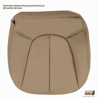 Driver Bottom Leather Seat Cover 2000 Ford Expedition Eddie Bauer Tan