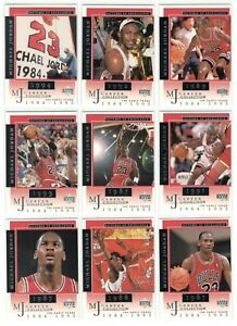 1998-99-UD-MICHAEL-JORDAN-Pictures-of-Excellence-18-card-set-Career-Bulls-invest