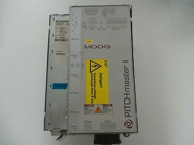 Begeistert Moog Pitchmaster Ii Type: Pm-m25.1dva10 Part. No: 181-00642 Servoregler