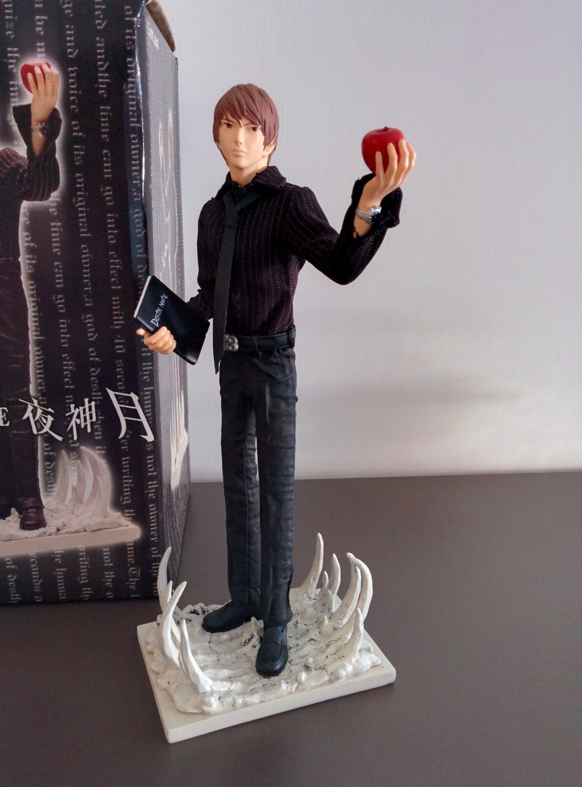 Death Note - Yagami Light Jun  Planning Craft Label RESIN STATUE STATUA ORIGINALE  marchio in liquidazione