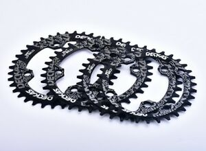 DECKAS MTB DH Narrow Wide Oval Single Chainring Chain Ring BCD104mm 32 34 36 38T