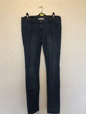 Miso Womens Blue Skinny Jeans Size 10 | eBay