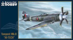 Passe-temps spécial 1/32 Hawker Tempest Mk.ii Hi-Tech # 32054 8594071085810