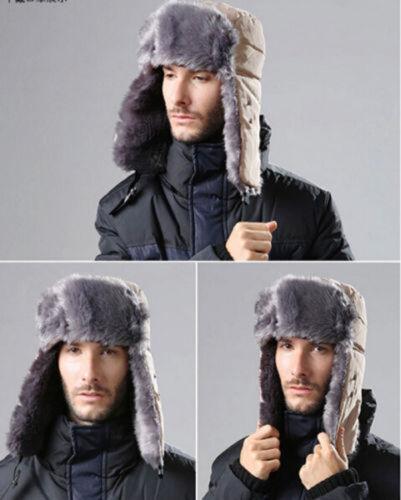 Free Shipping Sport Winter Trapper Aviator Trooper Earflap Warm Russian Ski Hats